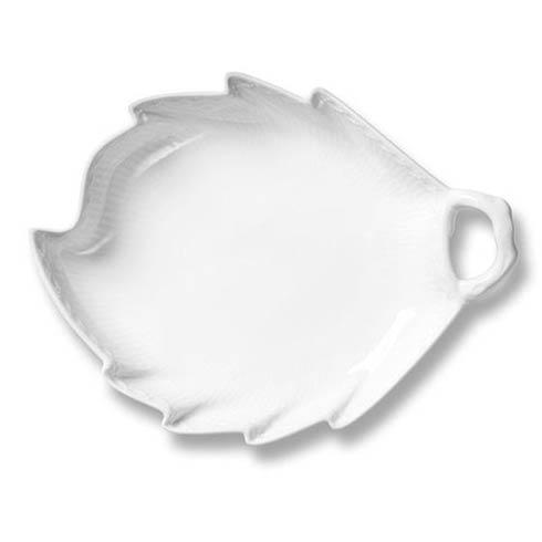 Royal Copenhagen  White Fluted Half Lace Accent Dish $64.00