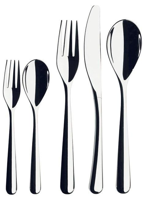 $105.00 5 Pc Stainless Steel Place Setting