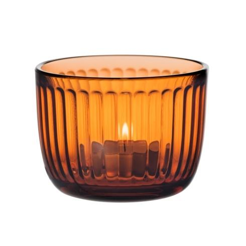 Tealight Candle Holder Seville-Orange 3.5""