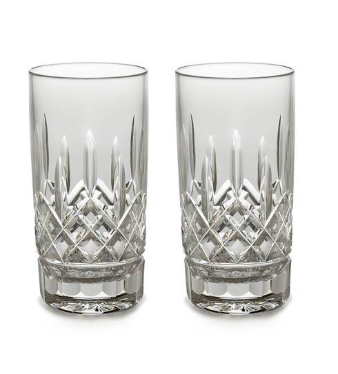 Waterford  Lismore Straight HiBall / Tall Beverage, Set of 2 $160.00