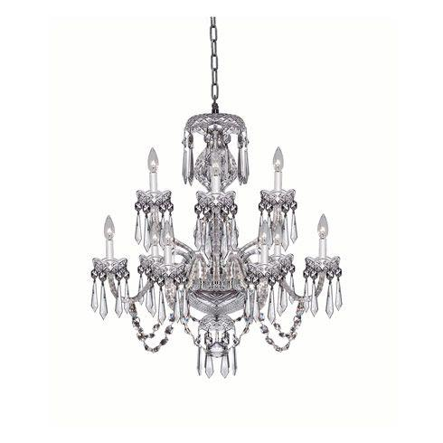 $6,600.00 Cranmore Chandelier  9 Arm