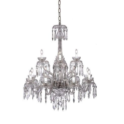 $13,200.00  Powerscourt Chandelier 12 Arm