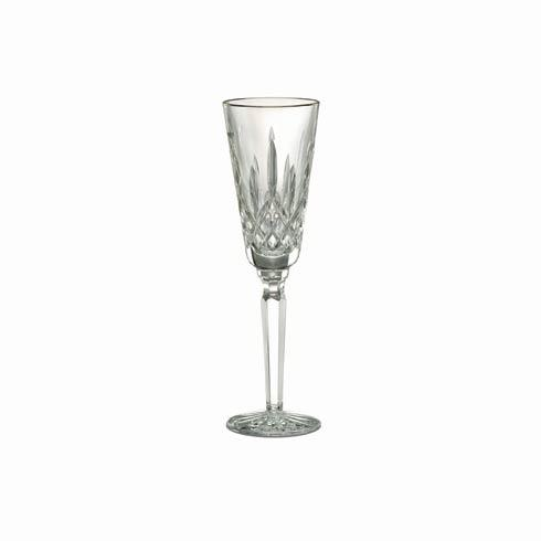 Tall Gold Champagne Flute