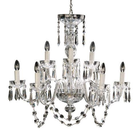 $5,395.00 Lismore 9-Arm Chandelier
