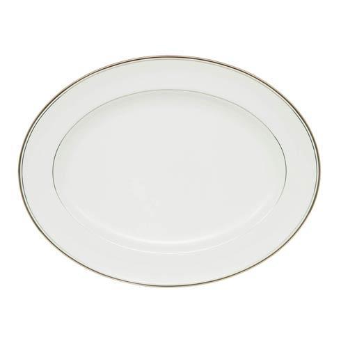 $160.00 Platinum Oval Platter
