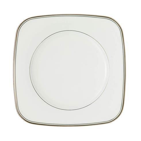 Platinum Square Accent Salad Plate