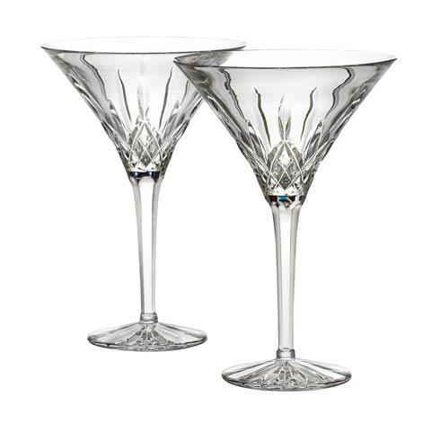 Waterford  Lismore  Martini, Set of 2 $250.00