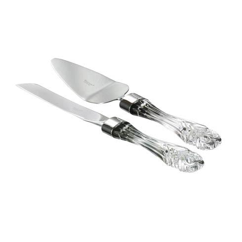 Waterford  Wedding Stainless Cake Knife & Server Set $310.00