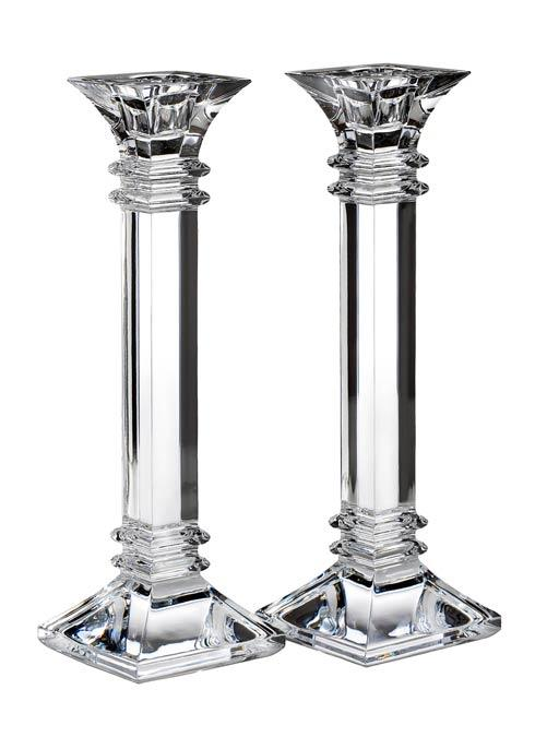 "Waterford  Treviso  Treviso 10"" Candlestick, Pair $120.00"