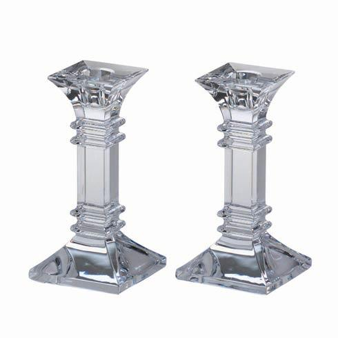 "Waterford  Treviso  Treviso 6"" Candlestick, Pair $94.00"
