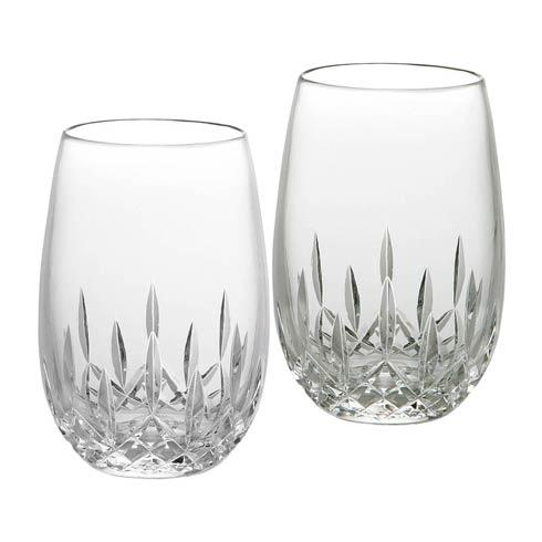 Waterford  Lismore Essence Stemless Wine White 8 OZ, Set of 2 $135.00