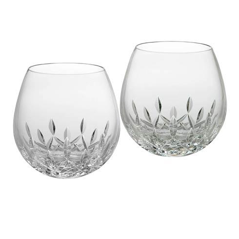 Waterford  Lismore Essence Stemless Wine Light Red 12 OZ, Set of 2 $135.00