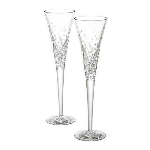 Waterford  Toasting Flutes Happy Celebrations Flutes, Set of 2 $135.00