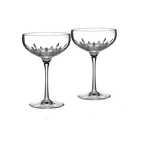 Waterford  Lismore Essence Saucer Champagne, Set of 2 $140.00