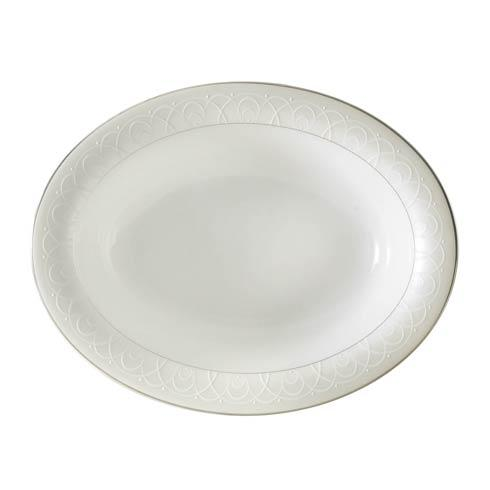 Waterford  Ballet Icing Pearl  Pearl Open Vegetable $145.00