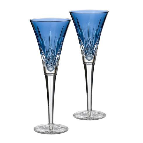 Waterford  Toasting Flutes Sapphire Toasting Flute, Pair $195.00