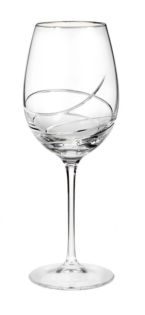 Waterford  Ballet Ribbon Essence Platinum  Essence Platinum Red Wine $80.00