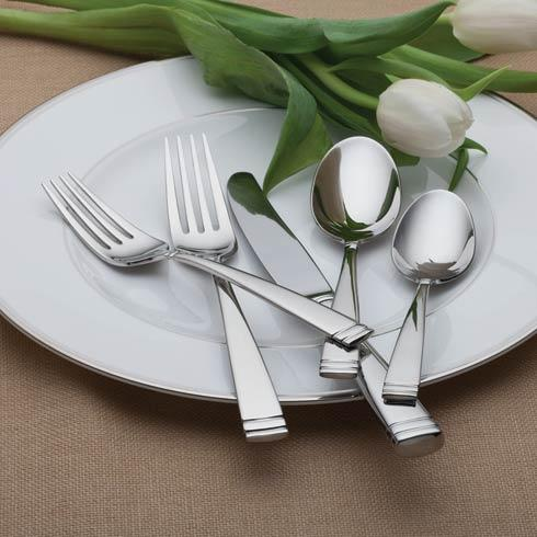 $199.00 Conover Stainless 65-Piece Flatware Set