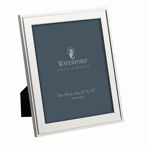 Waterford  Classic  8x10 Silver Frame $92.00