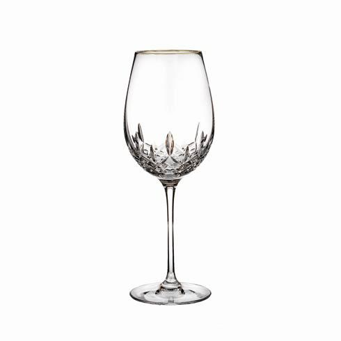 Waterford  Lismore Essence Gold Goblet $72.00