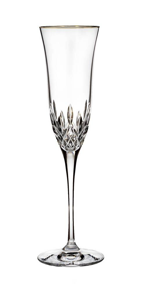 Waterford  Lismore Essence Gold Gold Flute $60.00