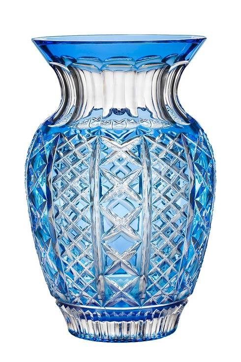 "$800.00 Molly Bouquet Vase 12"" Light Blue"