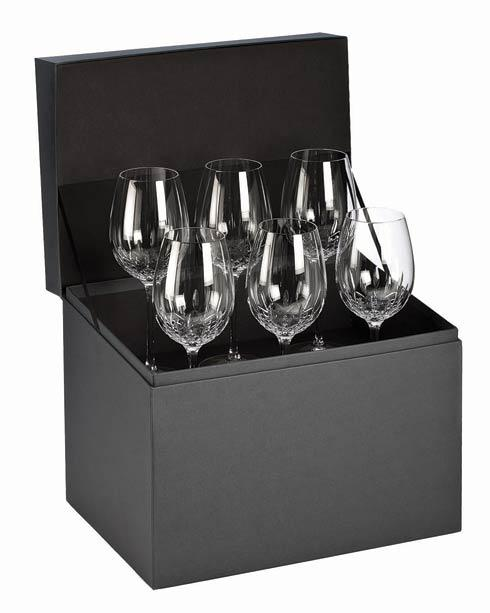 Waterford  Lismore Essence Goblet Deluxe Gift Box Set of 6 $395.00