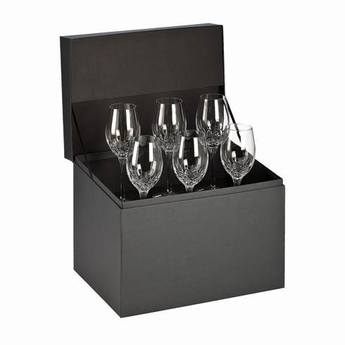 $316.00 White Wine Deluxe Gift Box Set of 6