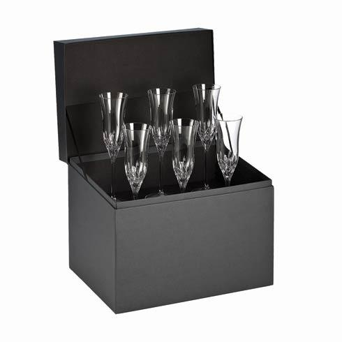 $316.00 Flute Deluxe Gift Box Set of 6