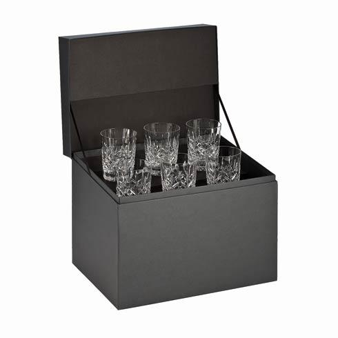 Waterford  Lismore  Double Old Fashioned Deluxe Gift Box Set of 6 $395.00