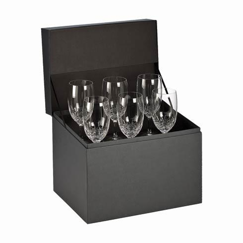 Waterford  Lismore Essence Iced Beverage Deluxe Gift Box Set of 6 $395.00