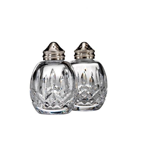Waterford  Lismore  Round Salt & Pepper $125.00