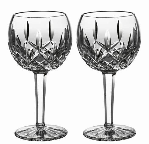 Waterford  Lismore  Balloon Wine, Set of 2 $170.00