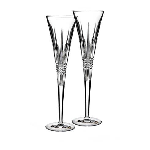 Waterford  Toasting Flutes Lismore Diamond Toasting Flutes, Set of 2 $160.00
