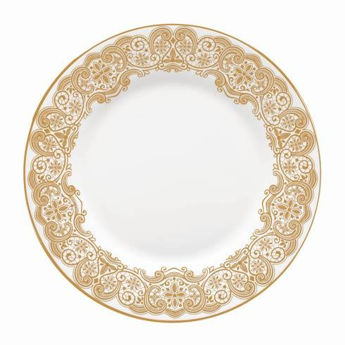 Waterford  Lismore Lace Gold Gold Salad Plate 8