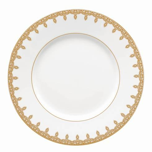 Gold Accent Salad Plate 9