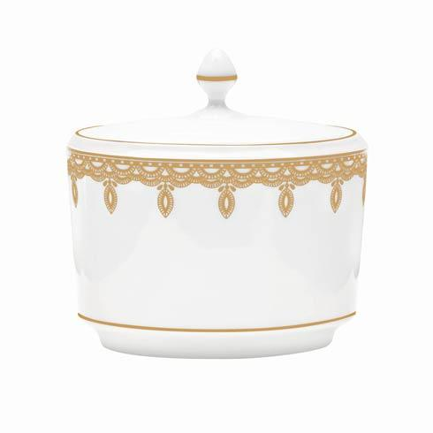 Gold Covered Sugar Bowl