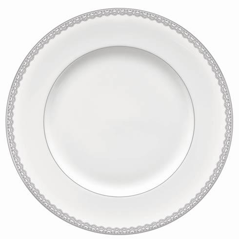 Waterford  Lismore Lace Platinum Dinnerware Dinner Plate $41.00