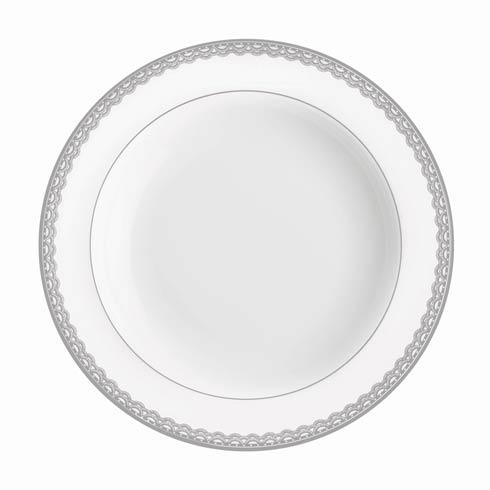 Waterford  Lismore Lace Platinum Formal Dinnerware Rim Soup, 9 $85.00