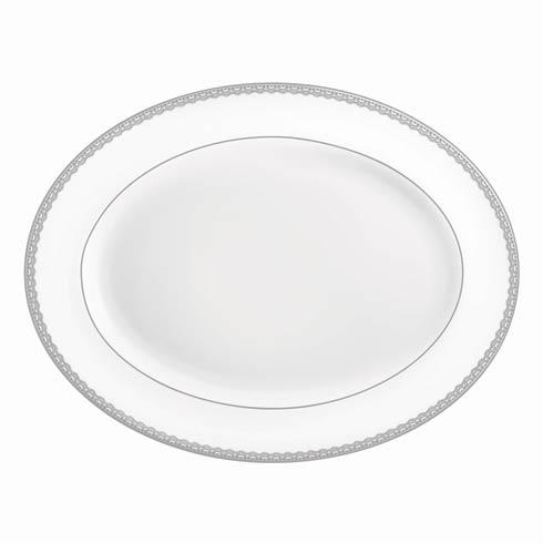 Waterford  Lismore Lace Platinum Formal Dinnerware Platter, 15.5 $195.00