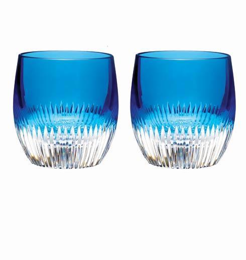 $175.00 Argon Blue Tumbler, Set of 2