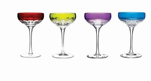 Coupes -Mixed Colors, Set of 4