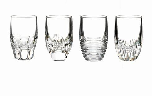 Waterford  Mixology Shot Glasses- Clear, Set of 4 $175.00