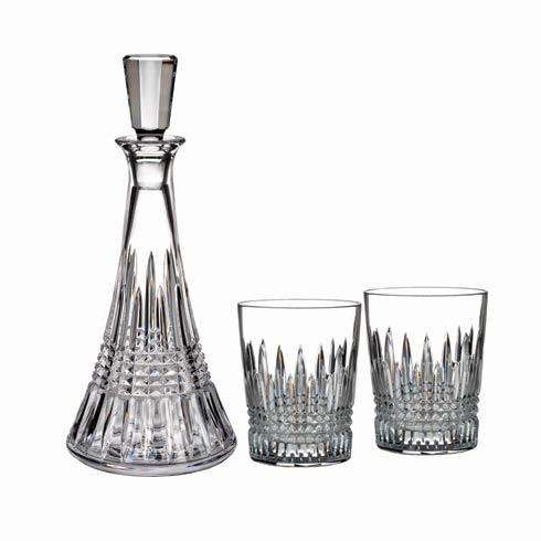 Waterford  Lismore Diamond Decanter and Double Old Fashioned, Set of 2, Gift Set $415.00