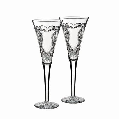 $175.00 Wedding Toasting Flute, Set of 2