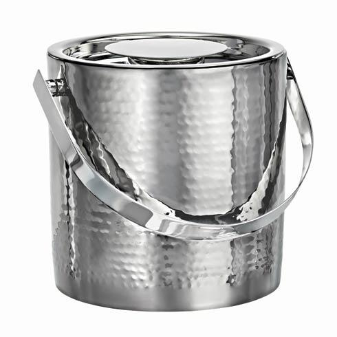 Waterford  Vintage Stainless Barware Stainless Steel Ice Bucket with Tongs $79.00