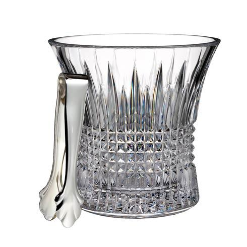 Waterford  Lismore Diamond Ice Bucket With Tongs $400.00