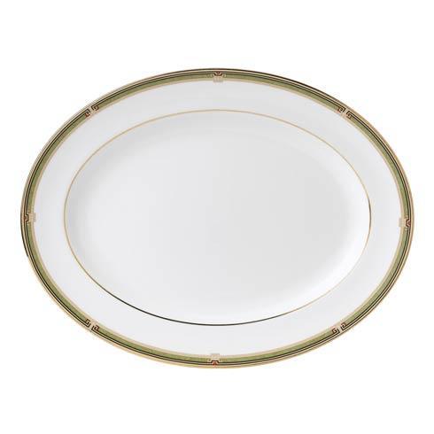 Oval Platter Border