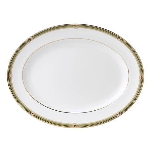 Wedgwood  Oberon Oval Platter Border $225.00