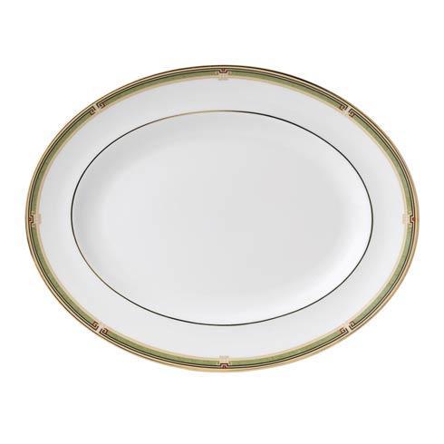 $165.00 Oval Platter Border